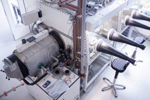 MBraun glove box system, EL-CELL laboratory