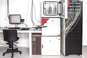 Maccor 4000 series cycler and climate chambers, EL-CELL laboratory