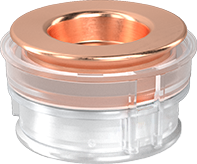 PAT-Core with copper and aluminum plungers without reference electrode